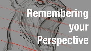 Drawing - Remembering Your Perspective