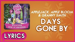 Applejack - Days Gone By   S  - Mlp: It's A Pony Kind Of Christmas  Album
