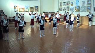 выступление дочки ансамбль Антошка