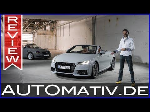 """Neuer Audi TT Facelift """"20 Years"""" (2018) auf 999 Einheiten limitierte Sonderversion - Review"""
