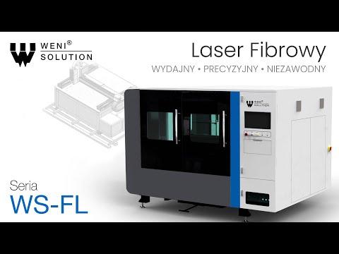 Weni wycinarka fibrowa seria : FL cięcie metali | Weni Fiber laser FL-series - zdjęcie