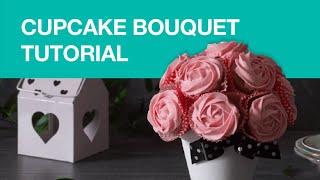 BEAUTIFUL Chocolate Cupcake Bouquet • Delicious Desserts by Gorenje