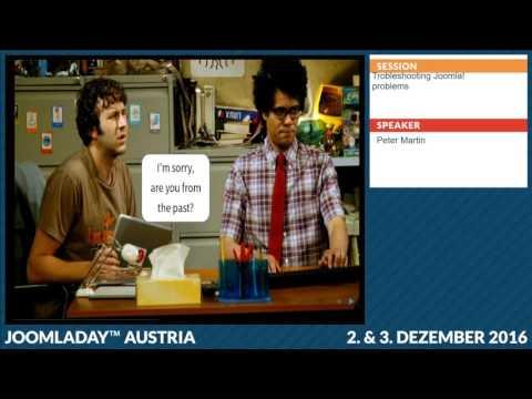 JD16AT - Troubleshooting Joomla! problems