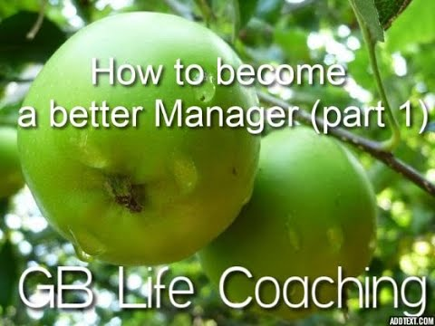 How to become a better Manager