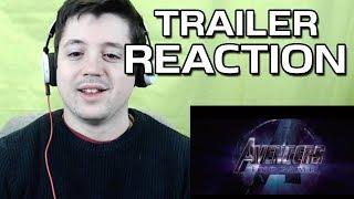 Avengers: Endgame Trailer | REACTION