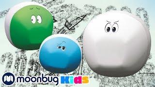 Невидимые мелки | ЧУДО МЯЧИКИ |Детские мультики | Детские песни | Moonbug Kids
