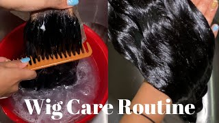 HOW TO WASH & MAINTAIN YOUR WIGS | LACE FRONT| HUMAN HAIR!!