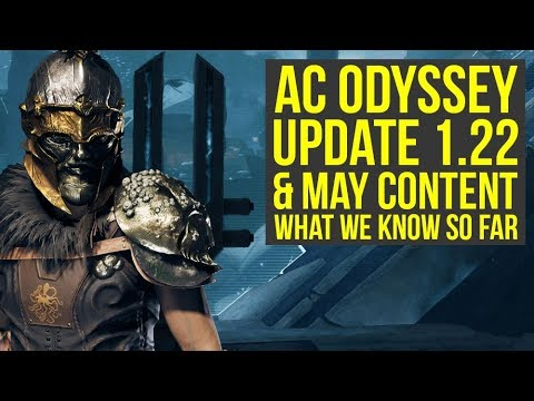 Assassin's Creed Odyssey Update 1.22 & May Content We Know About (AC Odyssey Update 1.22)