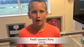 Fred's Leaver's Party
