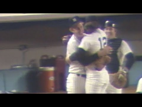 1978 WS Gm5: Beattie gets final out, seals Yanks' win