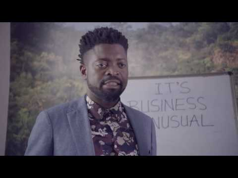 Anne Kansiime & Basketmouth on the job