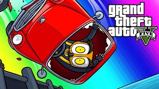 GTA5 Vespucci Job Funny Moments - Moo's Tuned Pucci?!
