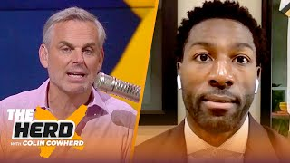 Greg Jennings reacts to Aaron Rodgers - Packers deal, Davante Adams extension odds | NFL | THE HERD