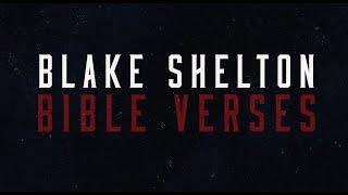 Blake Shelton Bible Verses