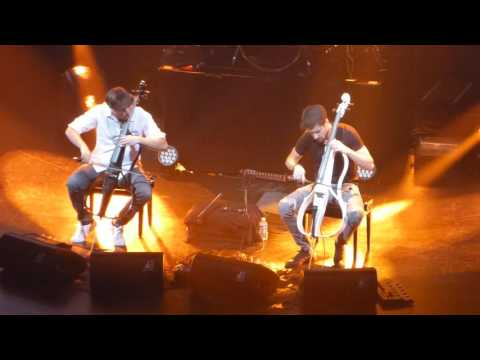 2Cellos - Where The Streets Have No Name (live @ Brussels 31/05/2016)