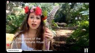 Priestess of the Moon Beltane Ritual