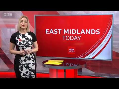 Nottingham City Homes on East Midlands Today, Lunchtime News, 05/11/19
