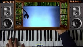 Modern Martina & KorgStyle  - Cтучит по окнам дождь (Korg Pa  700) EuroDisco80