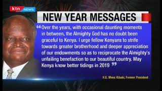 Leaders send in new year messages as Kenyans welcome the new year