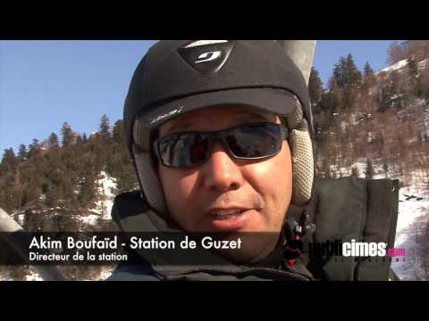 A la découverte de la station de ski de Guzet....