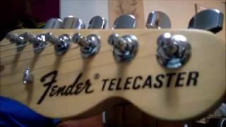 Francine Guitar Tutorial ZZ Top