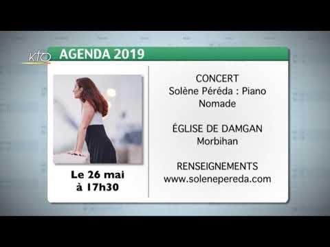 Agenda du 17 mai 2019
