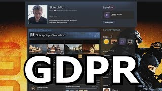 GDPR- What Valve knows about you