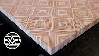 Making Plywood Patterns -- Chevron, Diamonds, Basket Weave, And More!