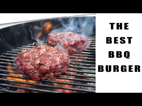 The Best BBQ Burger Recipe – Preparation and Cooking Instructions – BBQFOOD4U