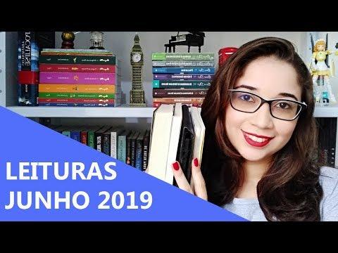 LEITURAS DE JUNHO 2019 ? | Biblioteca da Rô
