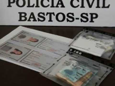 Mulher é presa em Bastos ao tentar sacar benefício do INSS com documento falso 1