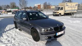 BMW 320 2.2 benzīns/gāze 125 kW 2004 gada l Auto no Vācijas