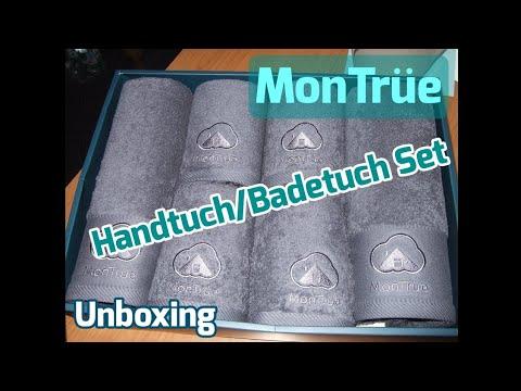 MonTrüe Handtuch/Badetuch Set [Unboxing]