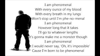 Eminem - Phenomenal Lyrics * Best lyrics song*