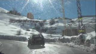 preview picture of video 'Snow in Lebanon'
