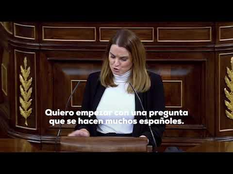 Monumental repaso de Marga Prohens a Irene Montero