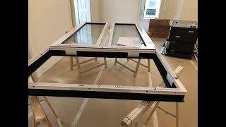 Алюминиевые окна ,   ОКНА С УКРАИНЫ,  3 -часть, проект лиссабон , ОКНА С УКРАИНЫ,  3 -часть