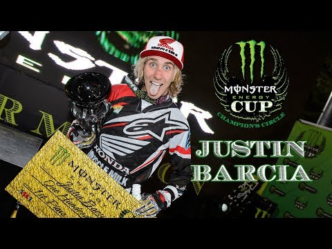Monster Energy Cup Champions Circle - Justin Barcia