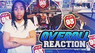 Live Reaction Hitting 93 Overall NBA 2K19