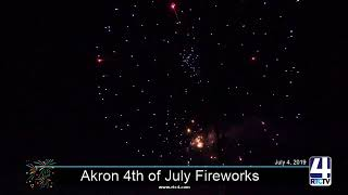 Akron 4th of July Fireworks