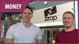 ZZap: How two teens made a fortune while still at uni