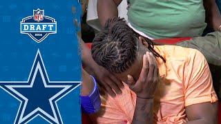 Jaylon Smith Gets Emotional When Cowboys Call | 2016 NFL Draft