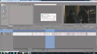 Sony Vegas Pro 13 - обрезка видео