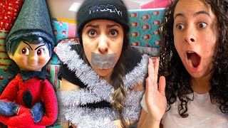 Bad Elf on a Shelf FULL MOVIE! (Christmas Pranks, Caught Moving, Indoor Snowstorm and MORE!)