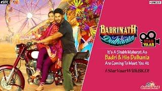 UNCUT : Varun Dhawan and Alia Bhatt Talk About Badrinath Ki Dulhania