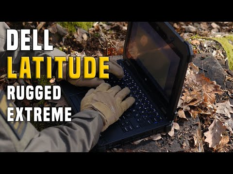 Notebook DELL Latitude 12 Rugged Extreme Gear Review GERMAN + (ENGLISH SUBTITLES)