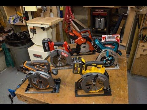 Best Cordless Circular Saw – Head to Head