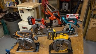 Best Cordless Circular Saw - Head to Head