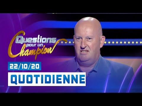Emission du Jeudi 22 Octobre 2020 - Questions pour un champion