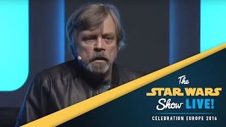 An Hour with Mark Hamill Panel | Star Wars Celebration Europe 2016
